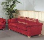 Czerwona sofa 3-osobowa-  PARADIOSO