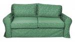 Tkanina z połyskiem sofa ściągany pokrowiec Marie 206 cm/FS