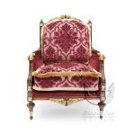 Fotel w stylu barokowych wnętrz Giove