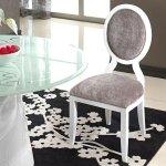 Krzesło do stylizacji glamour Anello