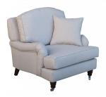 Szykowny fotel w stylu francuskim Marlene