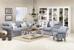Zestaw w stylu Provence - Classic 3+2 i fotel Arleta