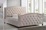 Ozdobne pikowania klasyczne łóżko w stylu angielskim Clemenza