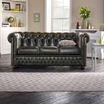 Skórzana sofa w stylu chesterfield Windsor Slim 200 cm