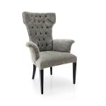 Oryginalne krzesło z podłokietnikami Queen