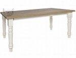 Stół biały 240x100 w stylu prowansalskim Sevilla