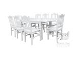 Zestaw do salonu COUNTRY rozkładany stół + 8 krzeseł