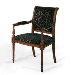 Krzesło z podłokietnikami w stylu empire Jacopo