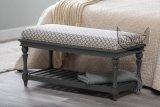 Ławka przed łóżko w stylu prowansalskim Linda