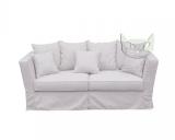 Sofa fartuchowiec 200 cm w stylu prowansalskim- Vivienne