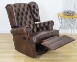 Fotel z funkcją spania Królewski fotel RELAX
