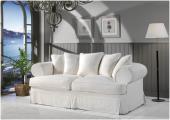 Prowansalska sofa fartuchowiec SAMANTHA
