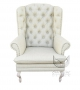 Fotel w stylu Ludwika XVI Królewski fotel