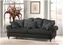Nierozkładana kanapa do salonu w angielskim stylu CALEIDOCOPE