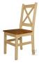 Krzesło sosnowe w stylu prowansalskim - Patrick