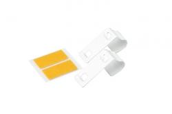 Metalowy wieszak do mini rolet - białe