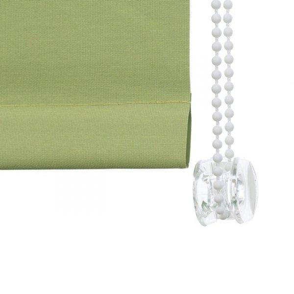 Rolety wolnowiszące z tkaniną thermo posiadają różne warianty eleganckiego wykończenia