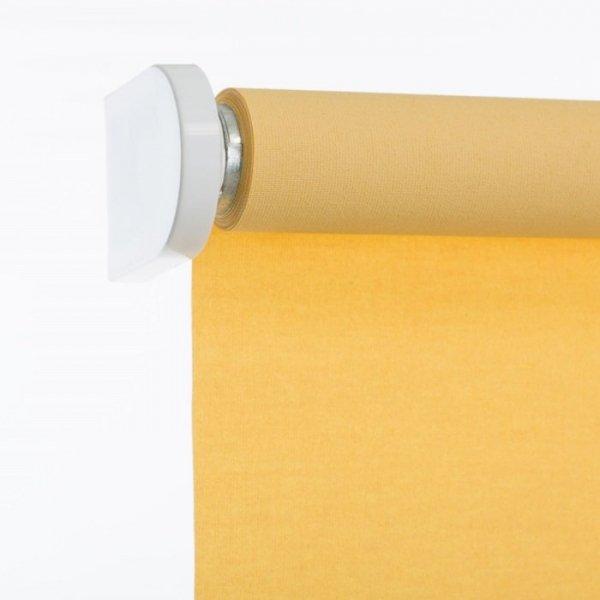 Roleta Klasyczna Samozwijająca - Żółty (Carina)