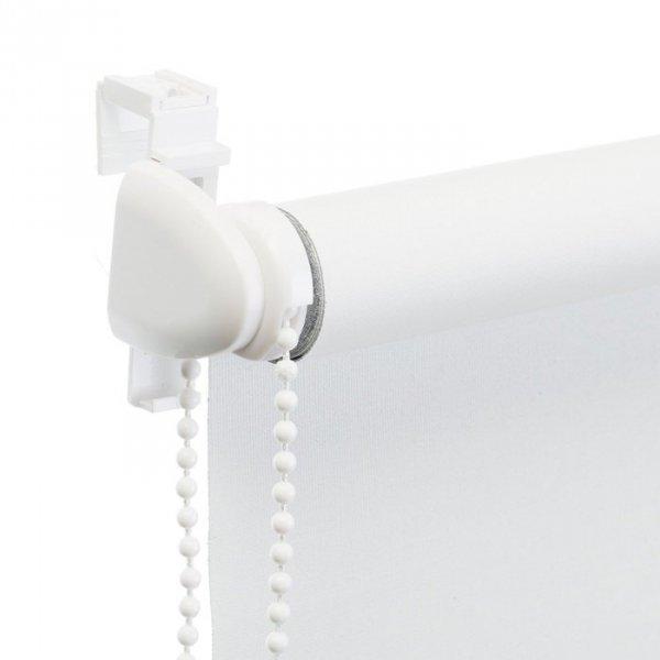 Mini roleta z żyłką - Biały (Dimout)