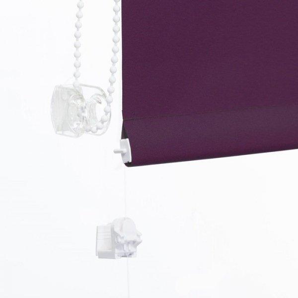 Mini roleta z żyłką Thermo - Jagoda (Silver)