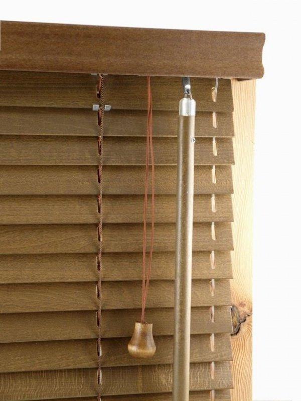 Żaluzje Drewniane 25mm na Wymiar