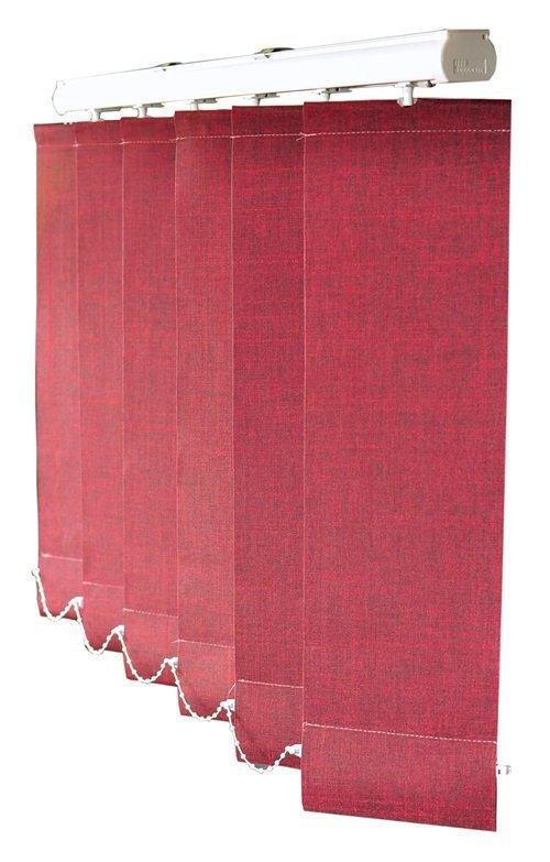 Żaluzje pionowe, Verticale 127mm, na wymiar, EXCLUSIV, Biel, Brąz, Srebrny