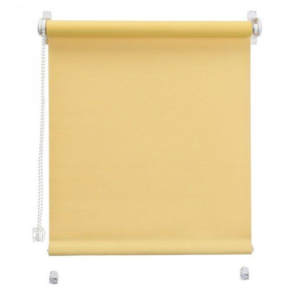 Mini roleta z żyłką - Żółty (Dimout)