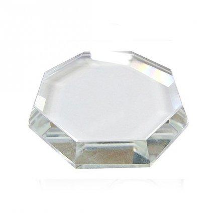 Glass Kleberunterlage, verschiedene Formen