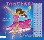 Tancerki Niezwykłe kolorowanki Diamentowe nalepki