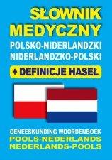Słownik medyczny polsko-niderlandzki niderlandzko-polski z definicjami haseł