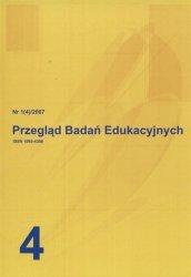 Przegląd Badań Edukacyjnych nr 1(4) / 2007