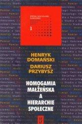 Homogamia małżeńska a hierarchie społeczne
