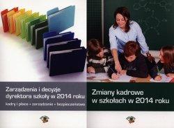 Zarządzenia i decyzje dyrektora szkoły w 2014 roku / Zmiany kadrowe w szkołach w 2014 roku