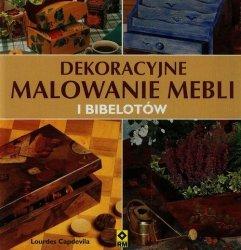 DEkoracyjne malowanie mebli i bibelotów
