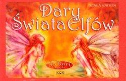 Dary świata Elfów książka z  55 kartyami w pudełku