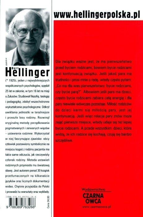 Miłość szczęśliwa Terapia par Berta Hellingera
