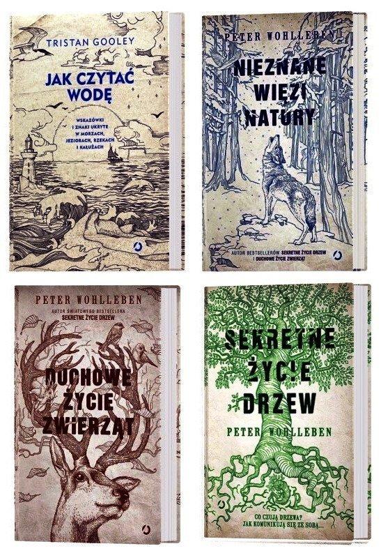 Sekretne życie drzew Duchowe życie zwierząt Nieznane więzi natury Jak czytać wodę