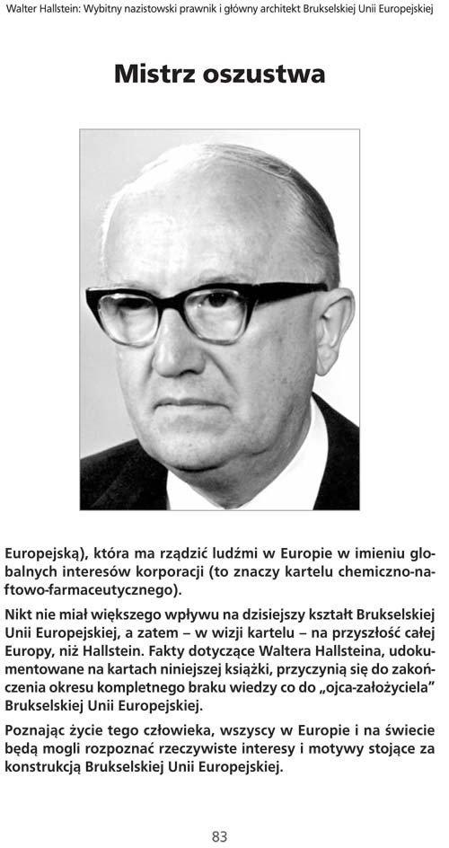 Nazistowskie korzenie Brukselskiej UE