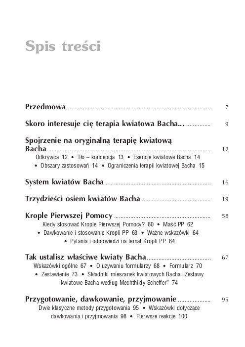 Oryginalna terapia kwiatowa Bacha dla początkujących