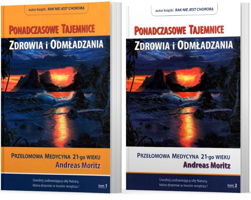 Pakiet Ponadczasowe Tajemnice Zdrowia i Odmładzania Tom I i II