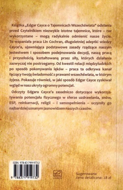 Edgar Cayce o tajemnicach wszechświata