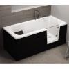 Badewanne für barrierefreies Bad mit Tür rechts und integrierter abnehmbarer Sitzbank für Senioren VOVO 160 cm