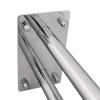 Stützgriff für barrierefreies Bad 50 cm aus rostfreiem Edelstahl ⌀ 25 mm