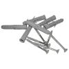 Duschhandlauf Winkelgriff für barrierefreies Bad  60/60 cm aus rostfreiem Edelstahl ⌀ 25 mm