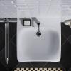 Waschtisch barrierefrei unterfahrbar 65x55cm ohne Überlauf