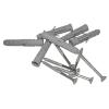 Haltegriff für barrierefreies Bad 50 cm weiß ⌀ 32 mm mit Abdeckrosetten