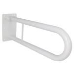 WC Klappgriff für barrierefreies Bad weiß 70 cm ⌀ 32 mm