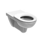 Wand WC RIMFREE für barrierefreies Bad mit 70 cm Ausladung GEBERIT