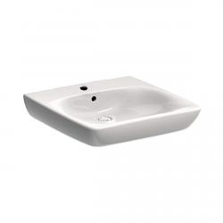Unterfahrbare Waschtisch für barrierefreies Bad 65 x 55 cm groß ohne Überlauf