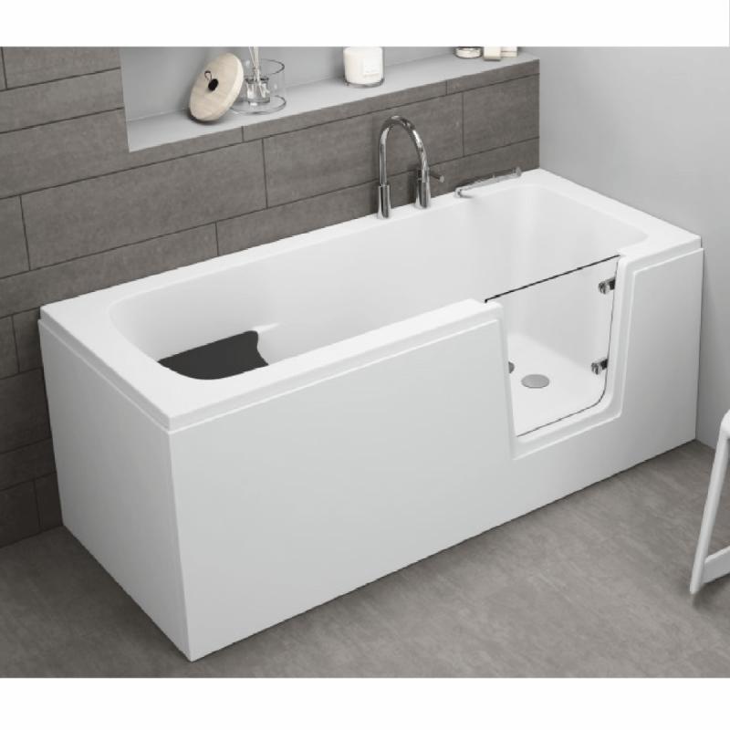 Frontpaneel für AVO Badewanne 170 cm weiß